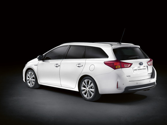 2015 Toyota Auris Touring Sports Hybrid rear side
