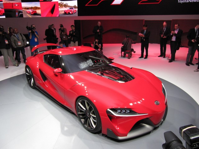 2015 Toyota FT-1 front