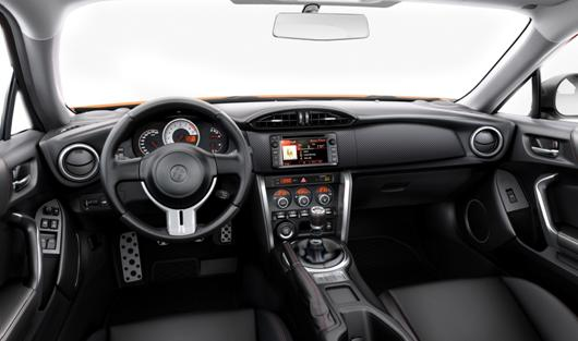2015 Toyota GT 86 Coupe interior