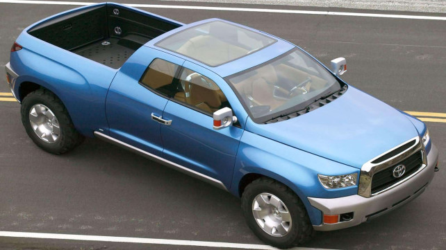 2015 Toyota Hilux from bird perspective