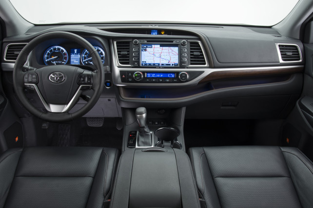 2014 Toyota Highlander Spongebob Squarepants inside