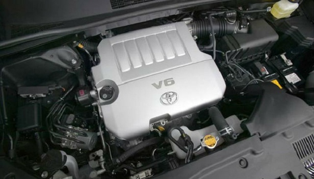 2016 Toyota Highlander engine