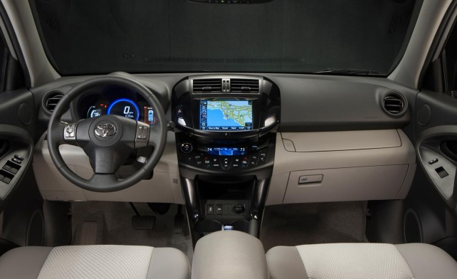 2014 Toyota RAV4 Electric  interior