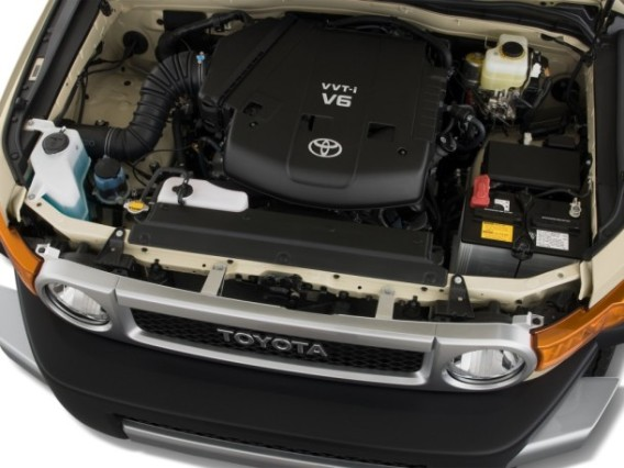 2015 Toyota RAV4 engine