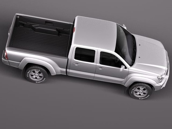 2015 Toyota Tacoma Diesel birds perspective