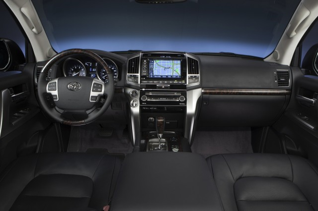 2016 Toyota Land Cruiser Hybrid inside