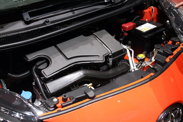 2014 Toyota Aygo engine