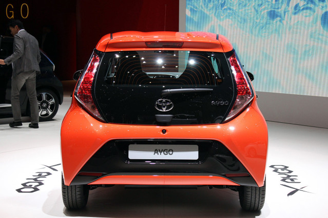 2014 Toyota Aygo rear side