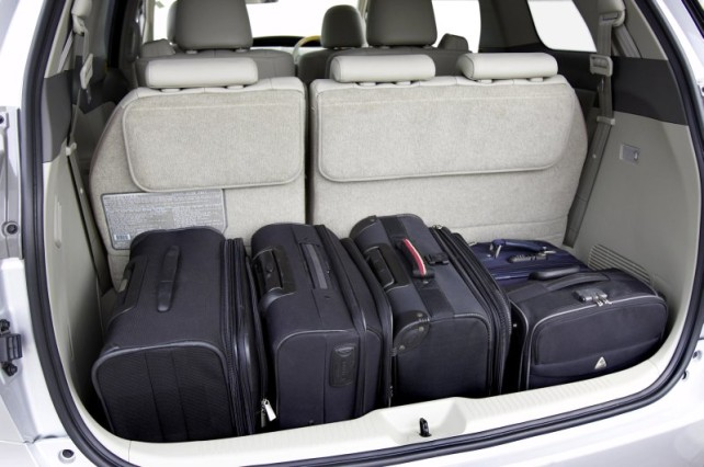 Toyota Rav4 Cargo Space Dimensions Car Pictures Gambar Rumah