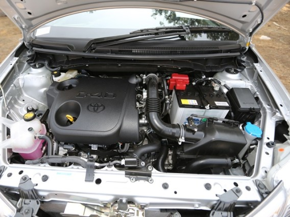 2014 Toyota Etios Cross engine