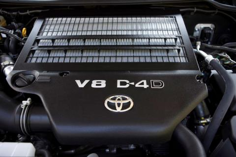 2016 Toyota Tundra engine