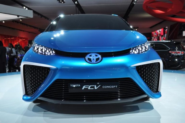 Toyota Hydrogen 2015 front grill