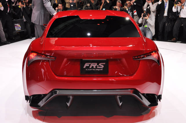 2015 Toyota Scion FR-S (GT 86 rear side