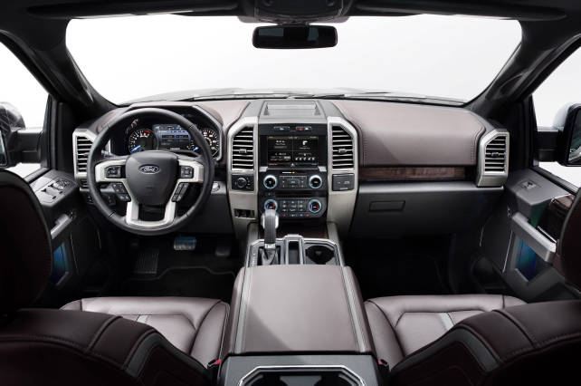 2015 Ford F-150 VS 2015 Toyota Tundra ford f150 interior