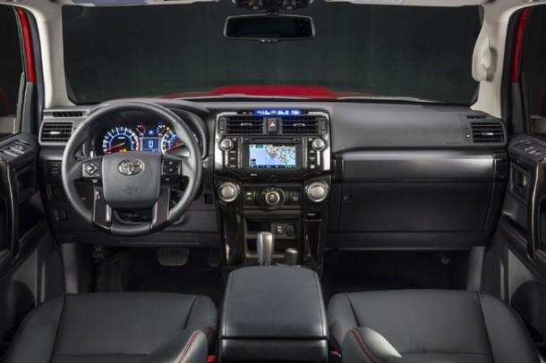 2015 Ford F-150 VS 2015 Toyota Tundra interior of tundra