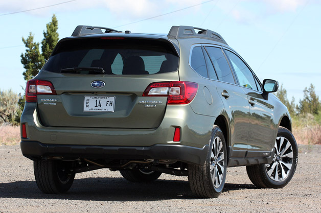 2015 Subaru Outback rear