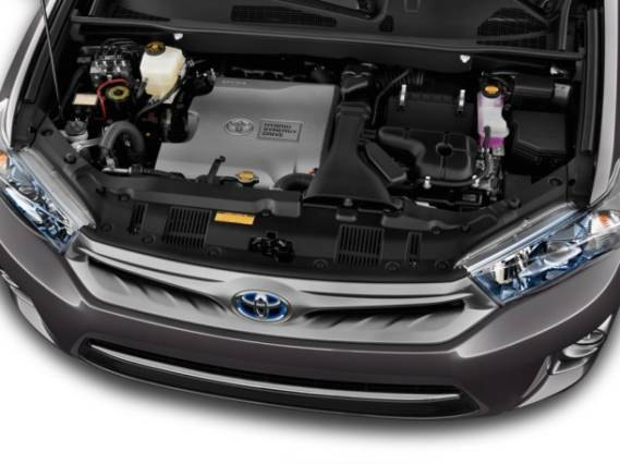 2015 Toyota Highlander Hybrid Limited engine
