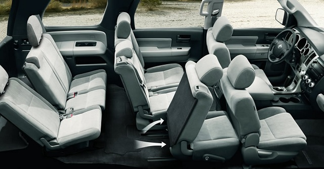 2016 Toyota Sequoia  seats