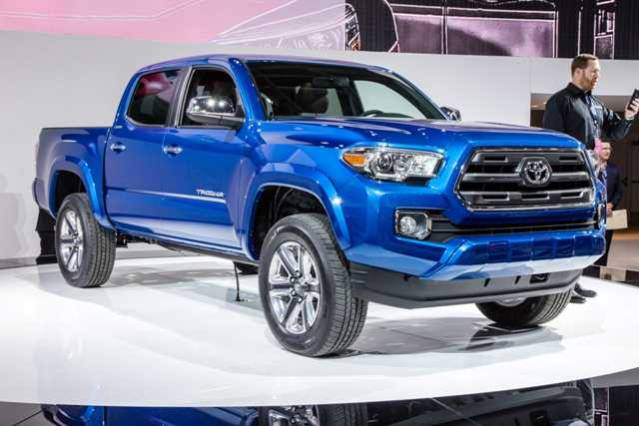 2016 Toyota Tacoma Diesel front