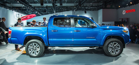 2016 Toyota Tacoma Diesel side
