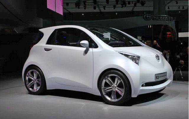 2015 Toyota IQ front side