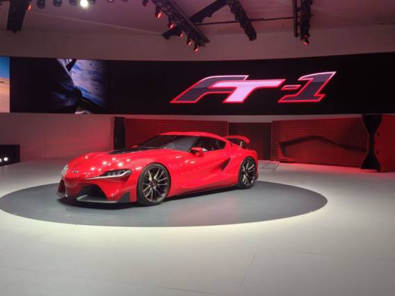 2015 Toyota Supra front side
