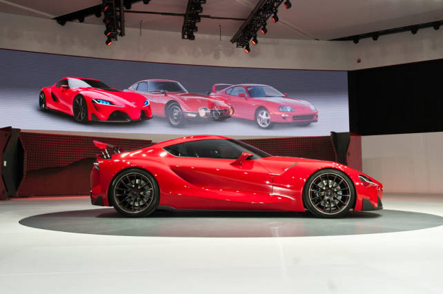 2015 Toyota Supra side