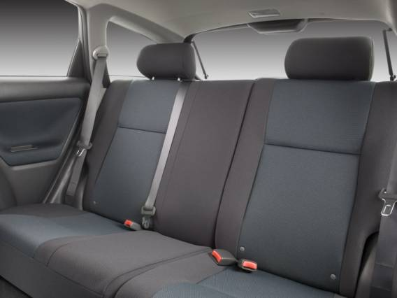 2016 Toyota Matrix rear seats