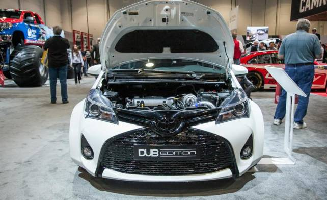 2016 Toyota Yaris DUB engine