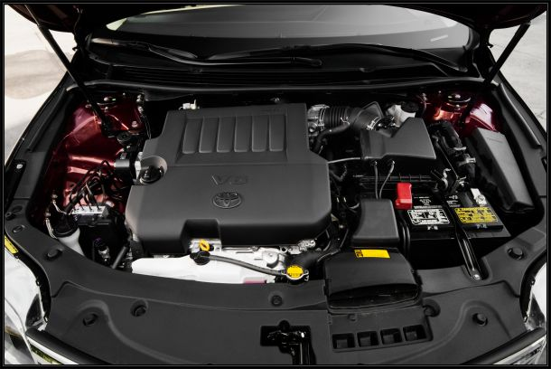 2015 Toyota Avalon vs. 2015 Chevrolet Impala engine