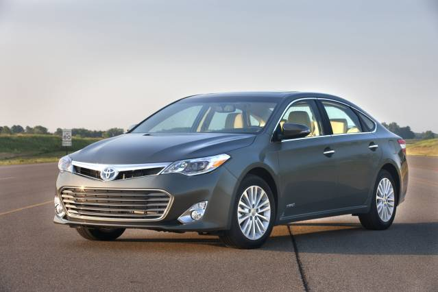 2015 Toyota Avalon vs. 2015 Chevrolet Impala