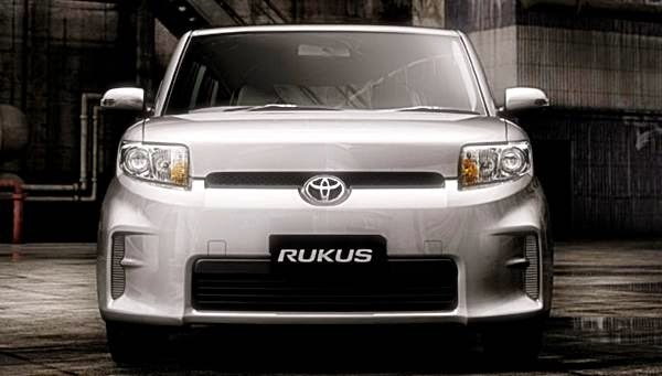 2015 Toyota Rukus front side