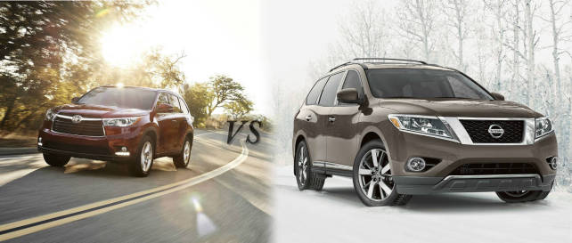 2015_Toyota_Highlander_vs_2015_Nissan_Pathfinder