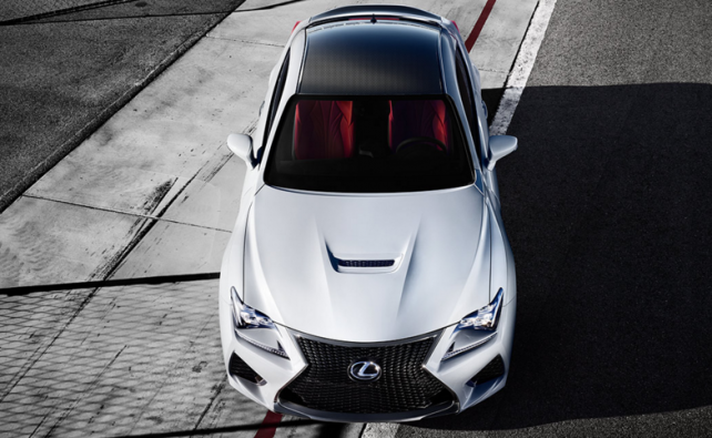 2016 Lexus RC F top luxury brands of cars