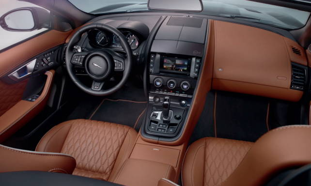 2017 Jaguar F-Type SVR Interior