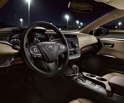 2018-Toyota-Avalon-interior